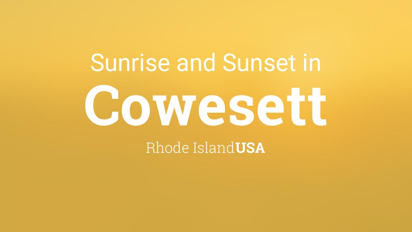 Sunset Tint Rhode Island