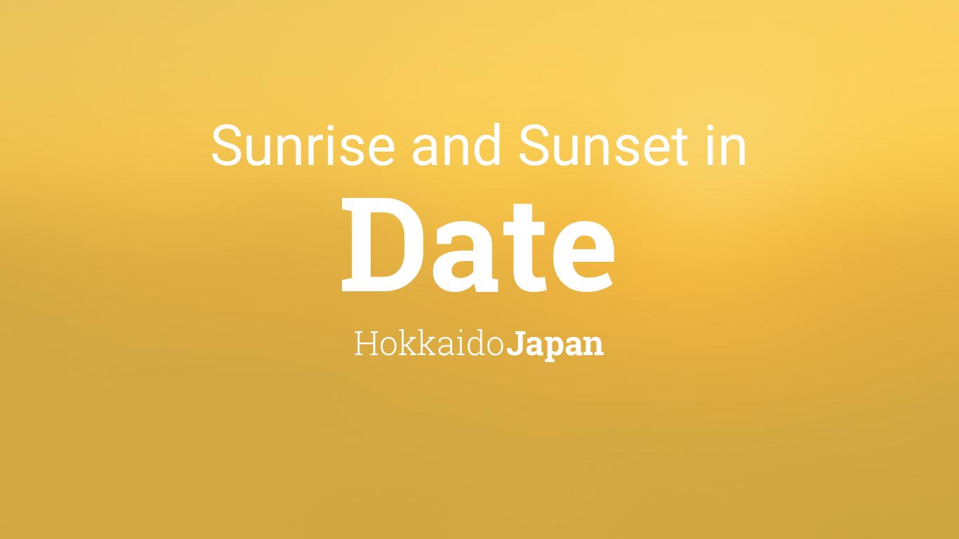 Sunrise dating vinkkejä