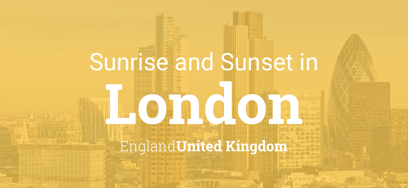 Sunrise Sunset Calendar 2019 Sunrise and sunset times in London