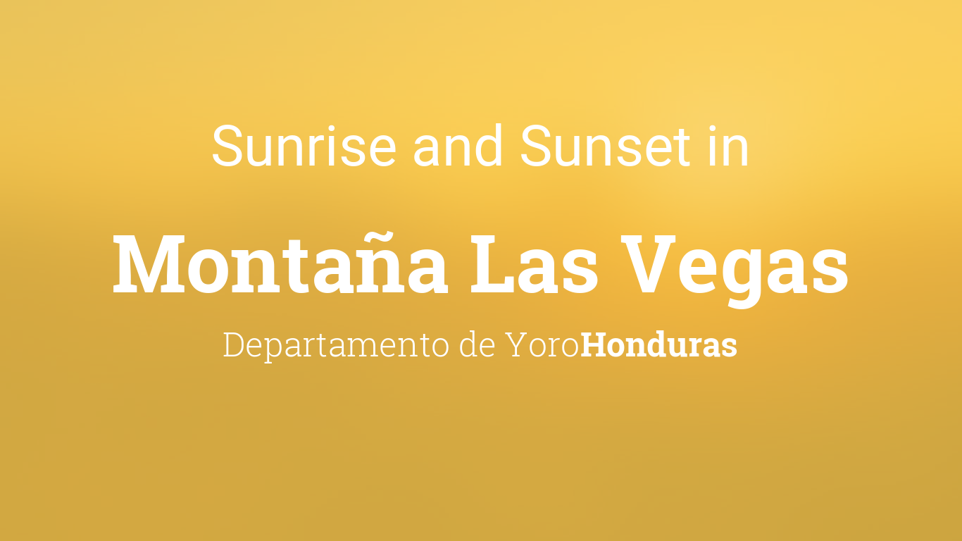 sunrise and sunset times in monta a las vegas january 2019. Black Bedroom Furniture Sets. Home Design Ideas