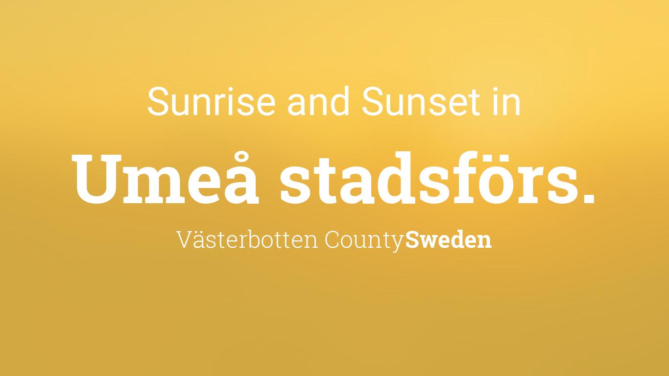 dating sweden umeå stadsförs.