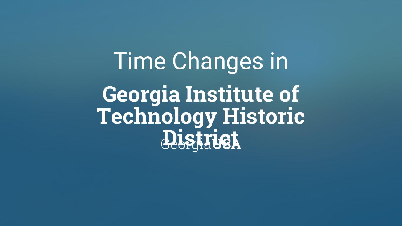 Daylight Savings 2021 Georgia - Daylight Saving Time 2021 ...