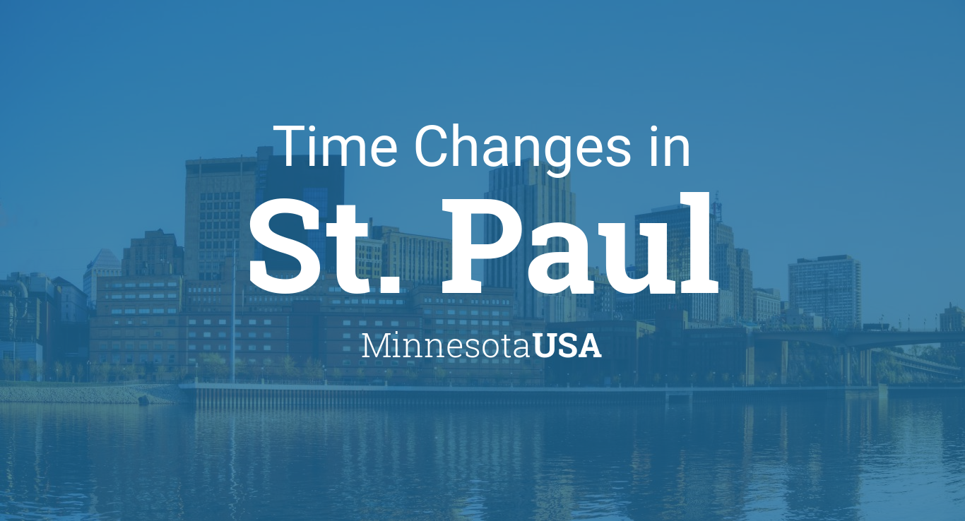 Time Changes In Year For USA Minnesota St Paul - When time change in usa