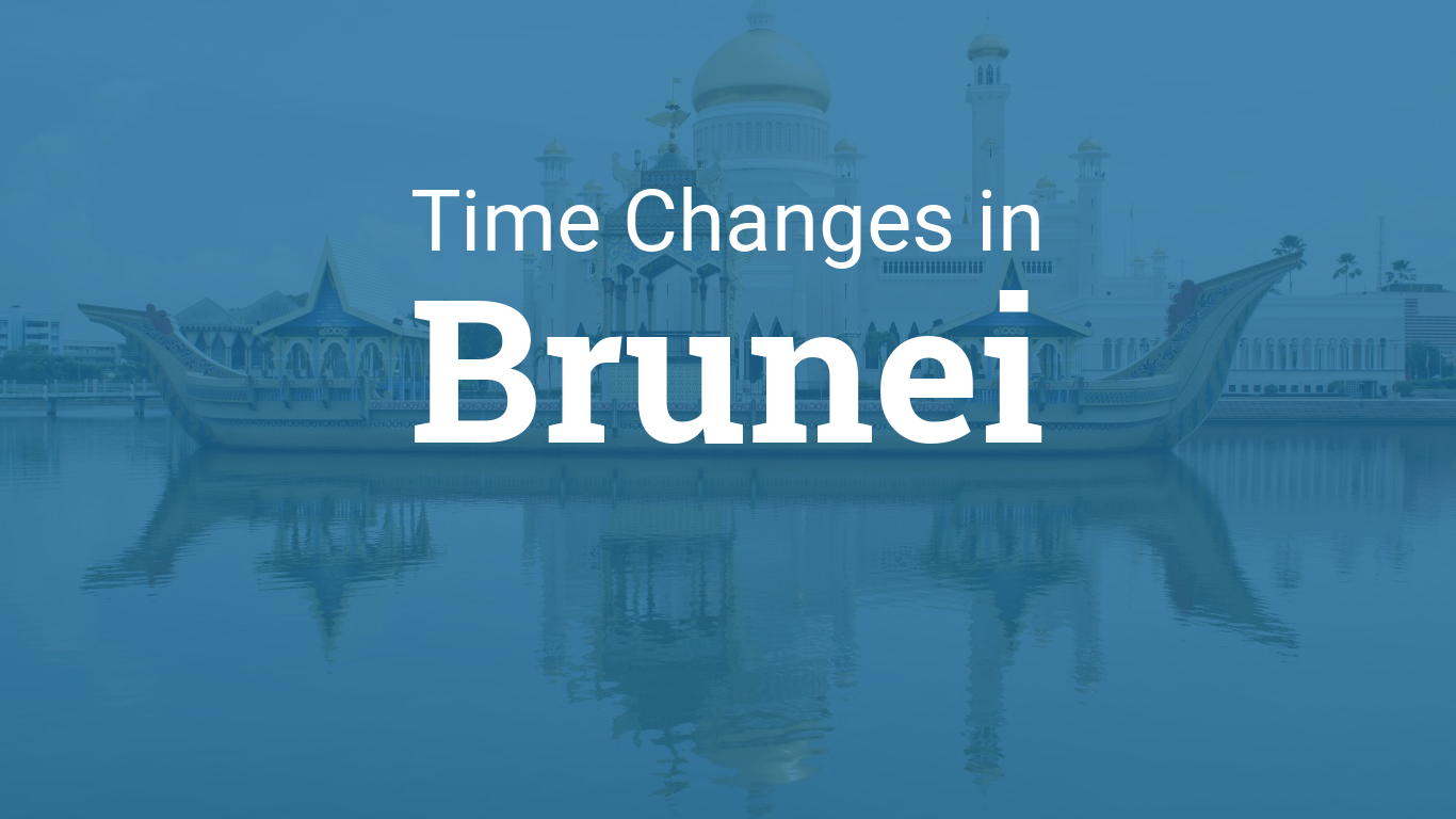 Daylight Saving Time 2019 in Brunei