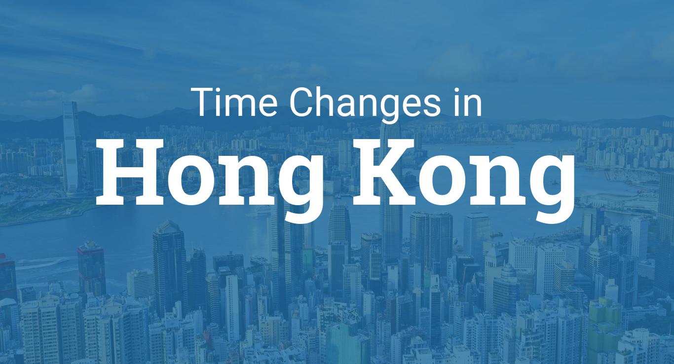 Daylight Saving Time 2021 in Hong Kong