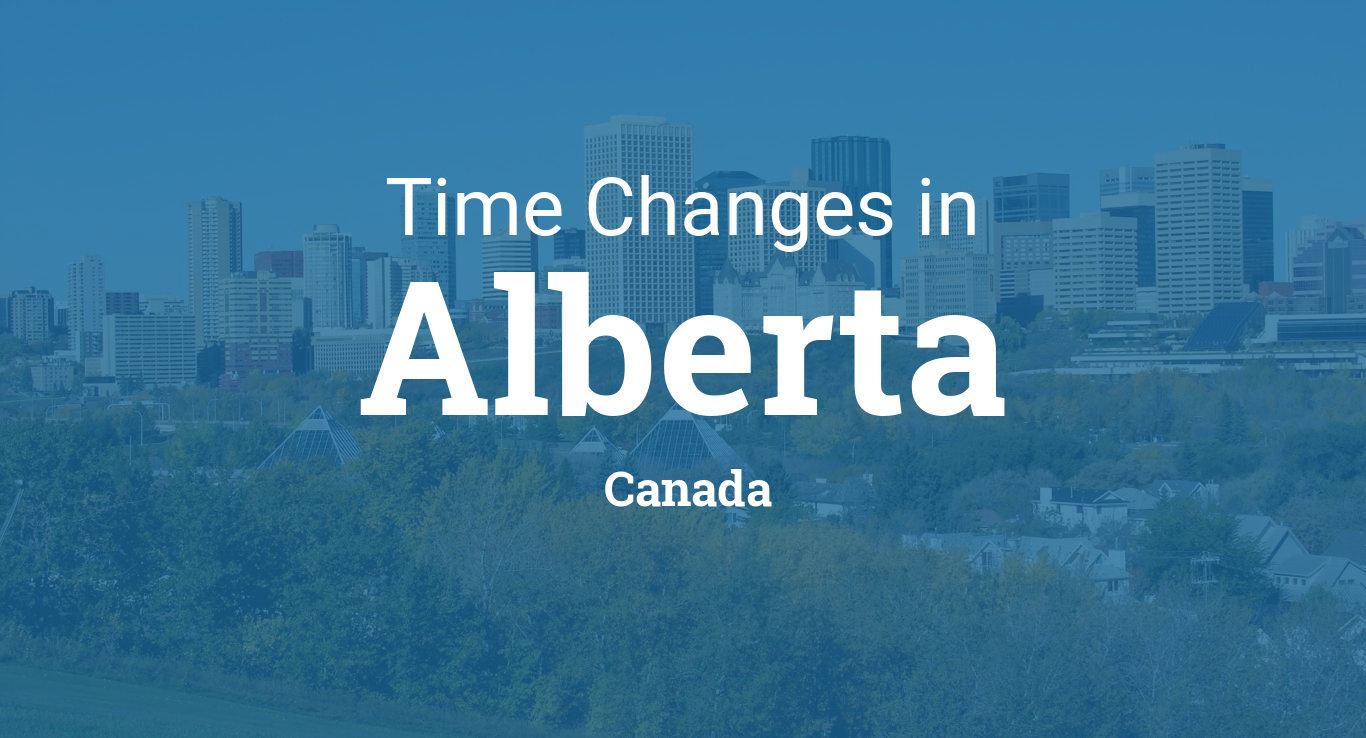 Daylight Saving Time 2019 in Alberta, Canada