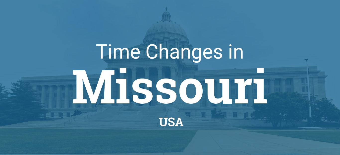 Daylight Saving Time 2019 In Missouri United States