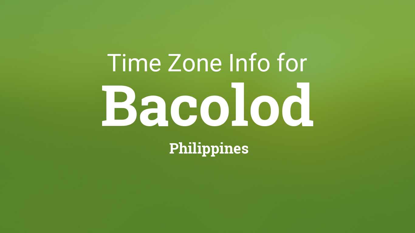 Philippines Time Zone