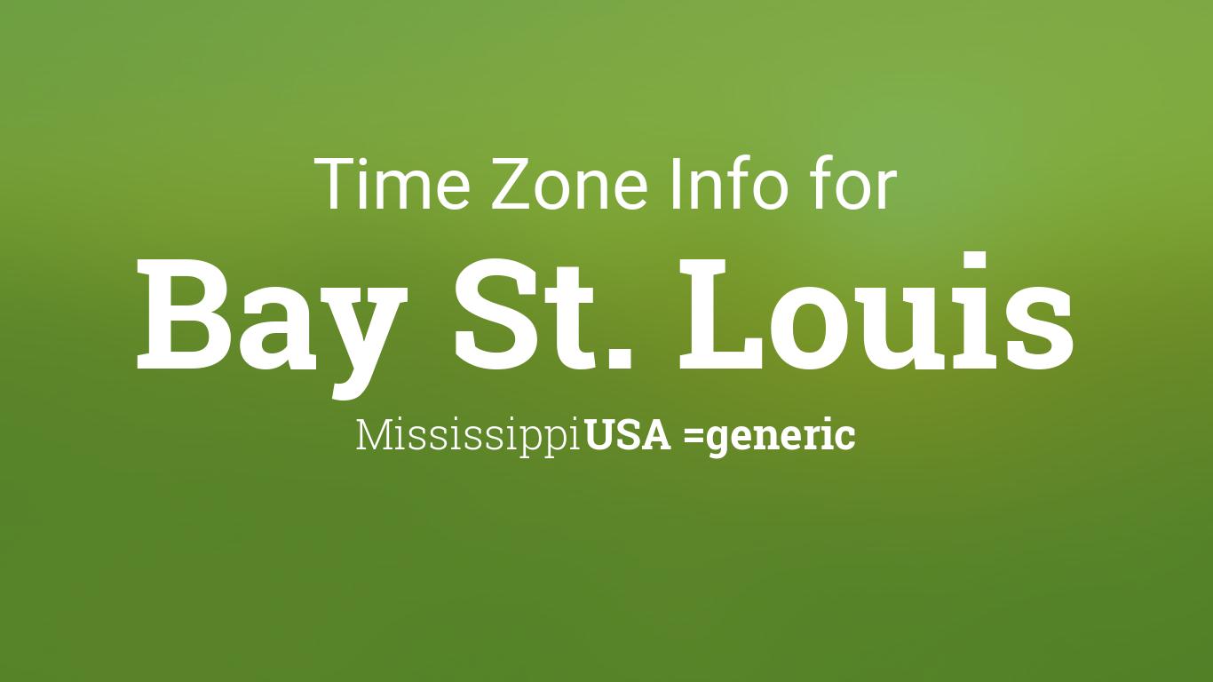 time zone clock changes in bay st louis mississippi usa. Black Bedroom Furniture Sets. Home Design Ideas