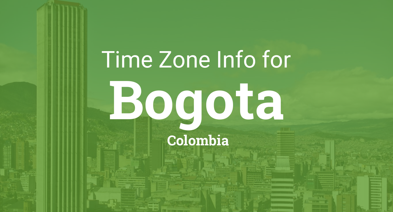 Hora actual en colombia bogota