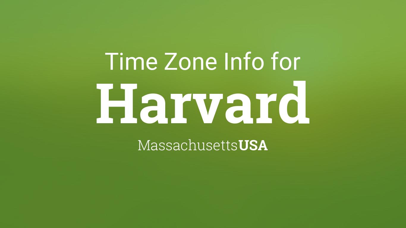 Harvard Calendar 2022.Time Zone Clock Changes In Harvard Massachusetts Usa