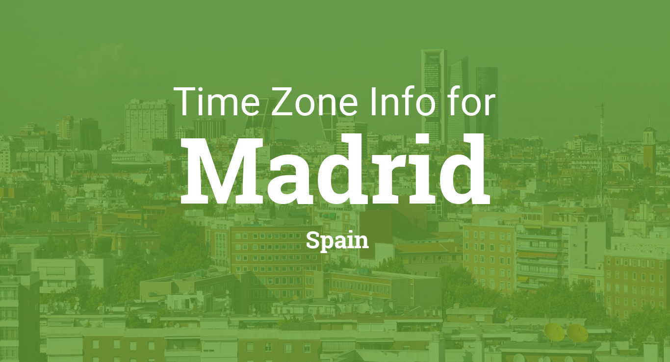 Map Of Spain Time Zones.Time Zone Clock Changes 1900 1924 In Madrid Spain