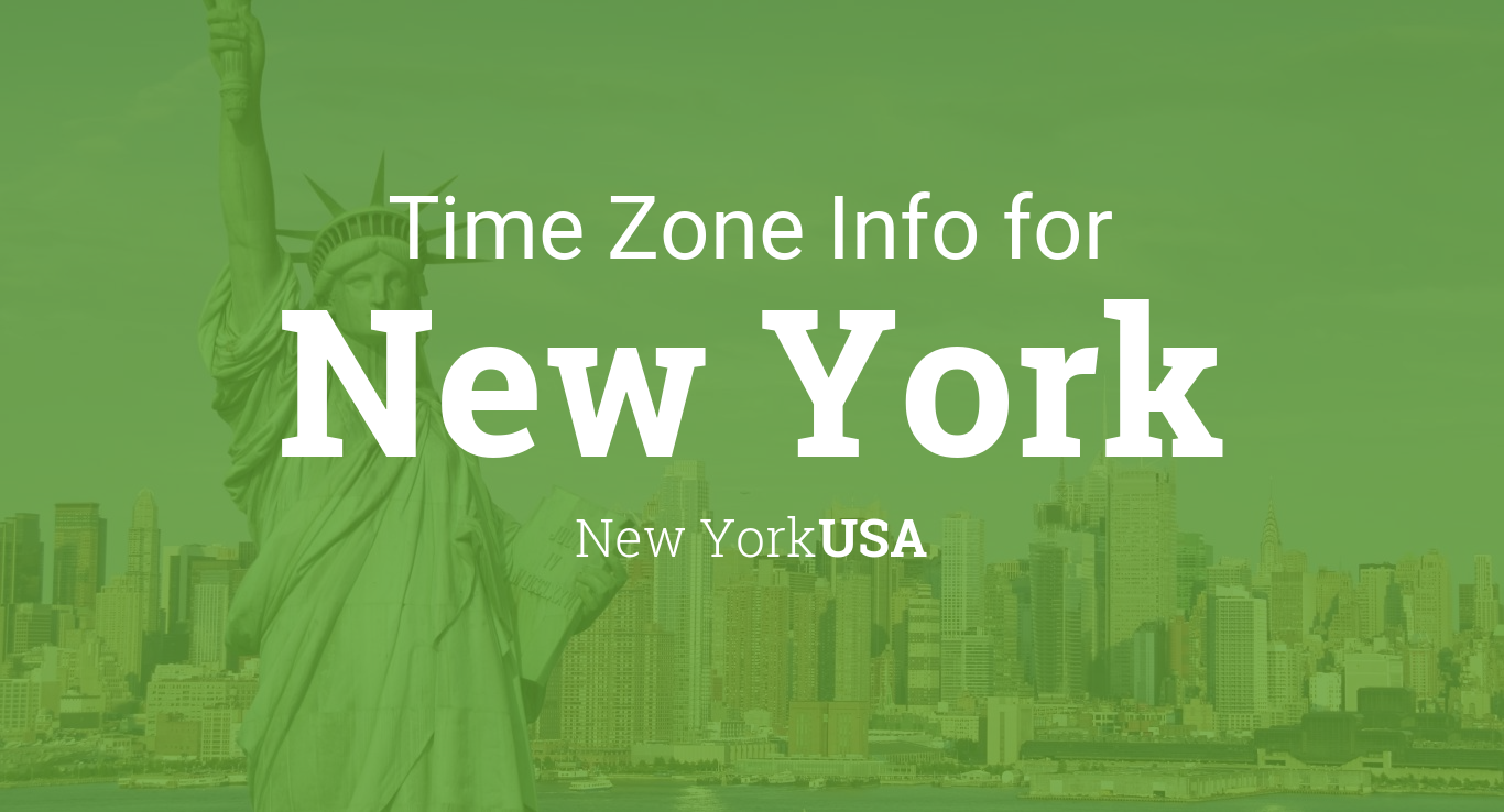 Daylight Saving Time Dates For USA New York New York Between - Real time map of us time zones