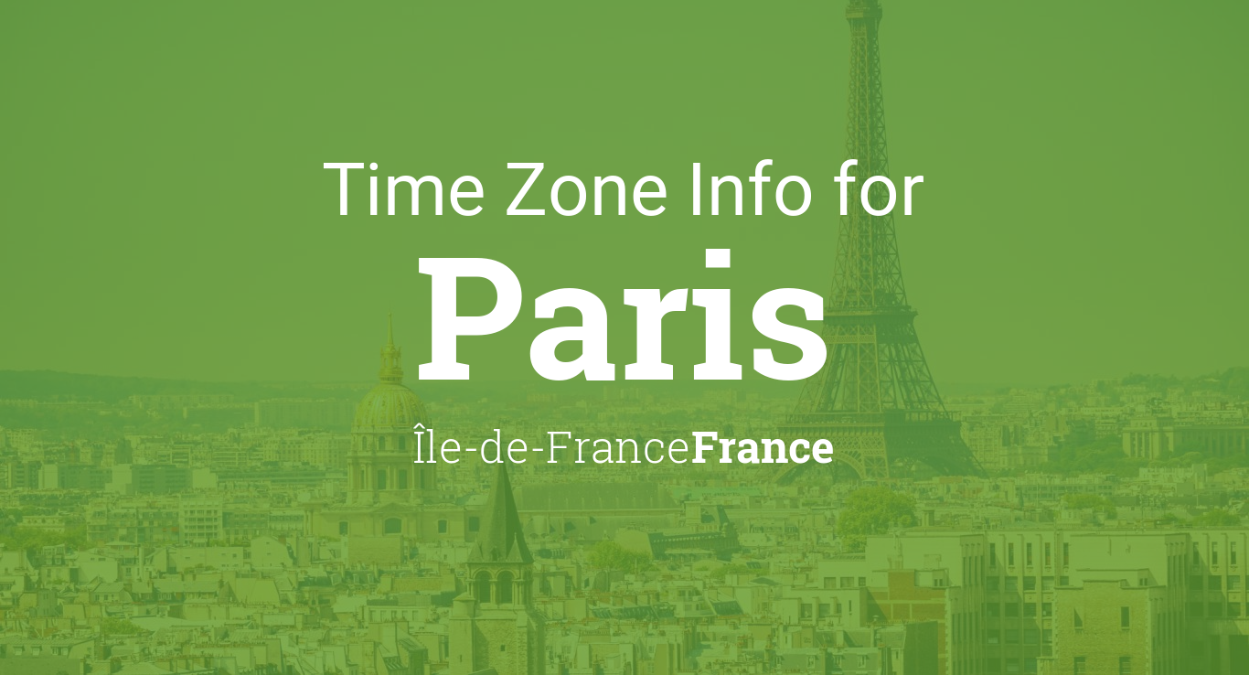 Map Of Drop Zones In France.Time Zone Clock Changes In Paris Ile De France France