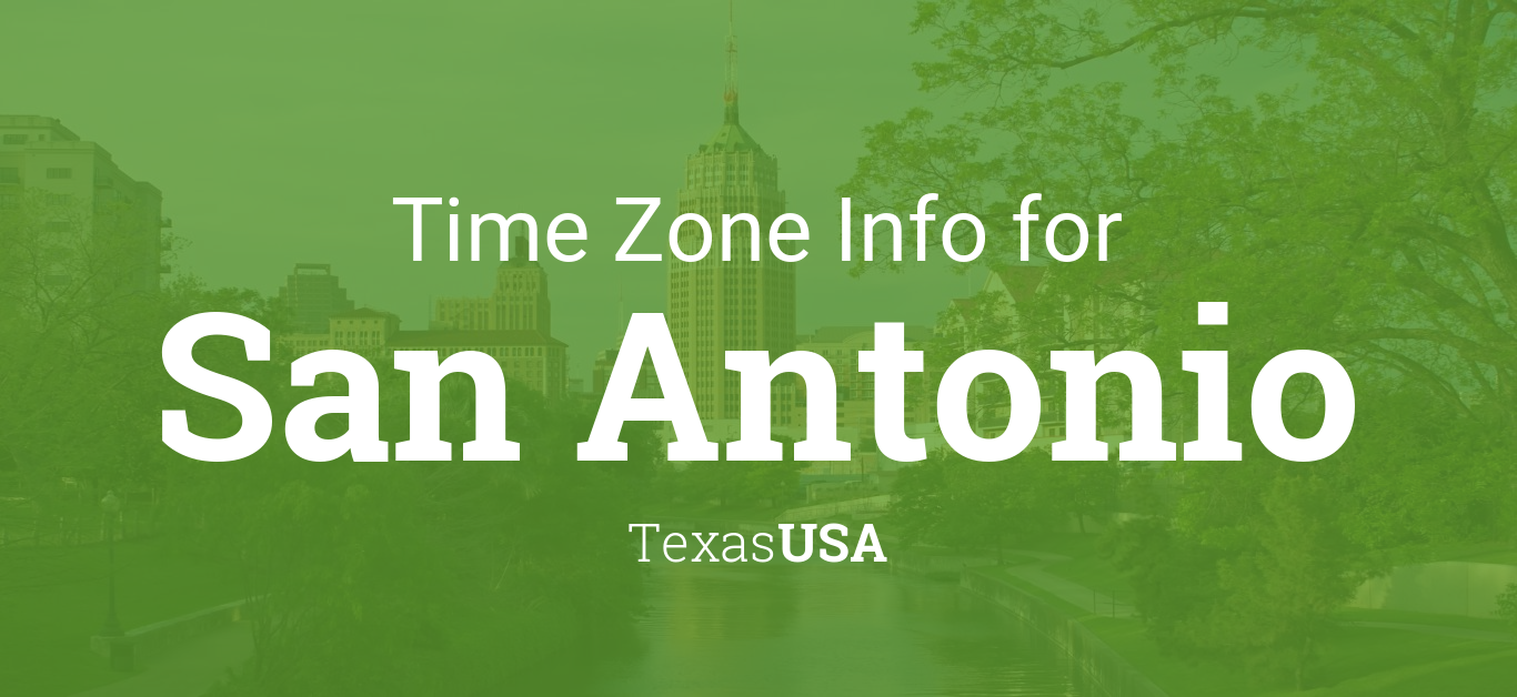 Current local time in San Antonio, Texas - 24timezones.com