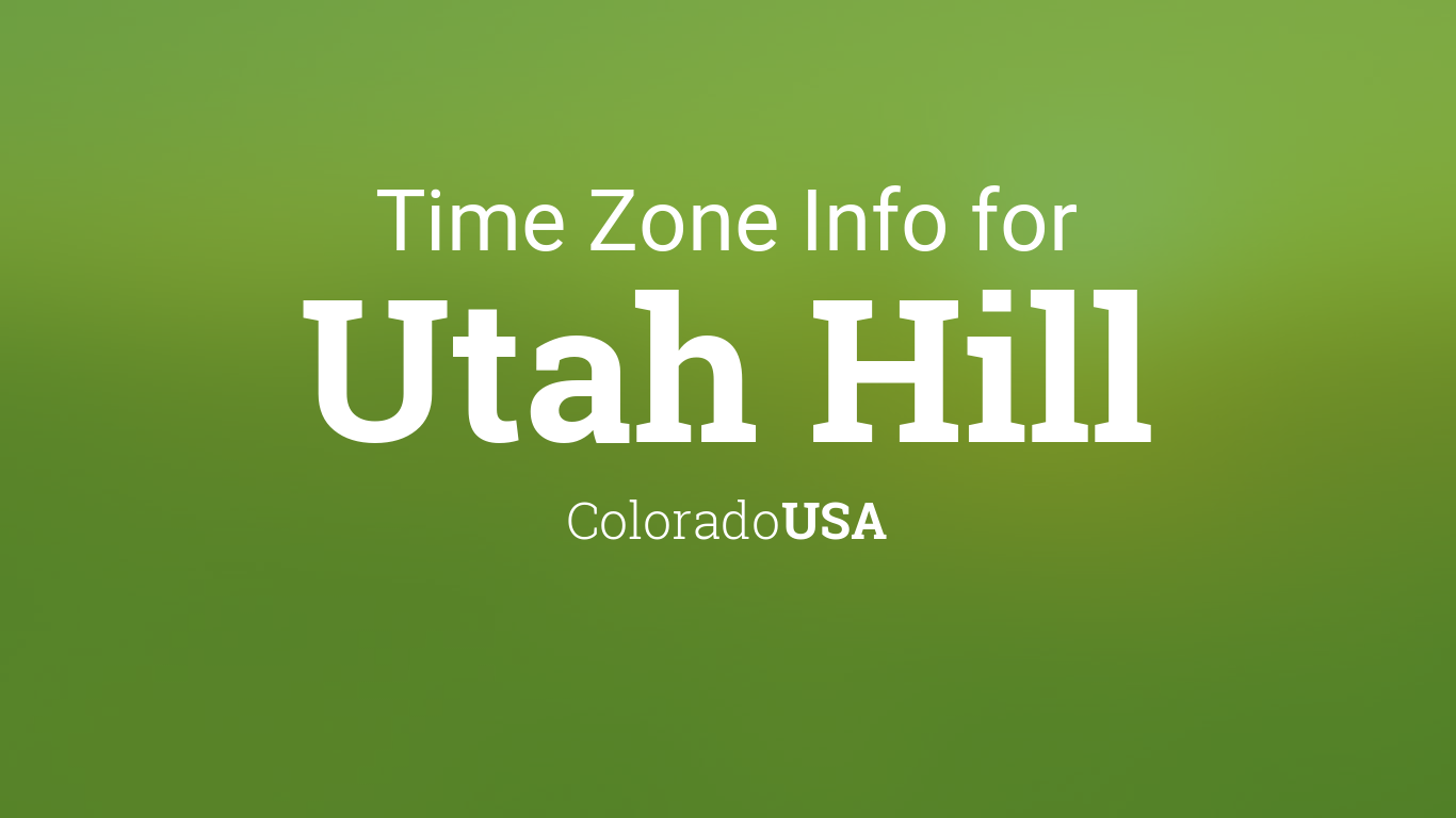 Current local time in Provo, Utah - 24timezones.com