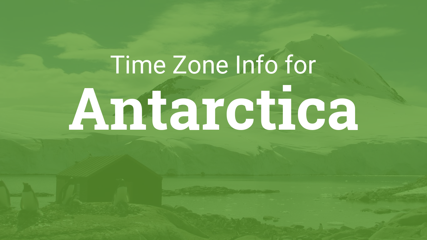 Time Zones In Antarctica - Map of us central time zone cities
