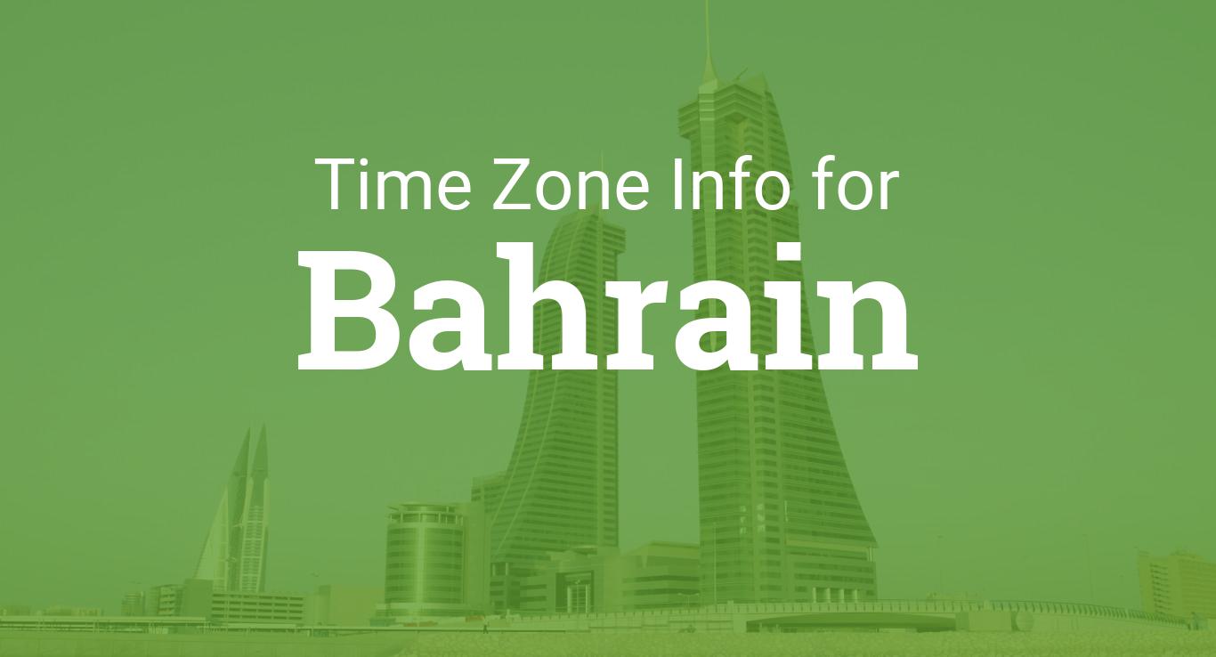 Time Zones in Bahrain