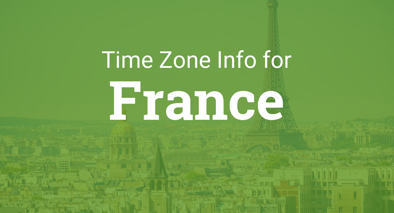 Time Zones In France