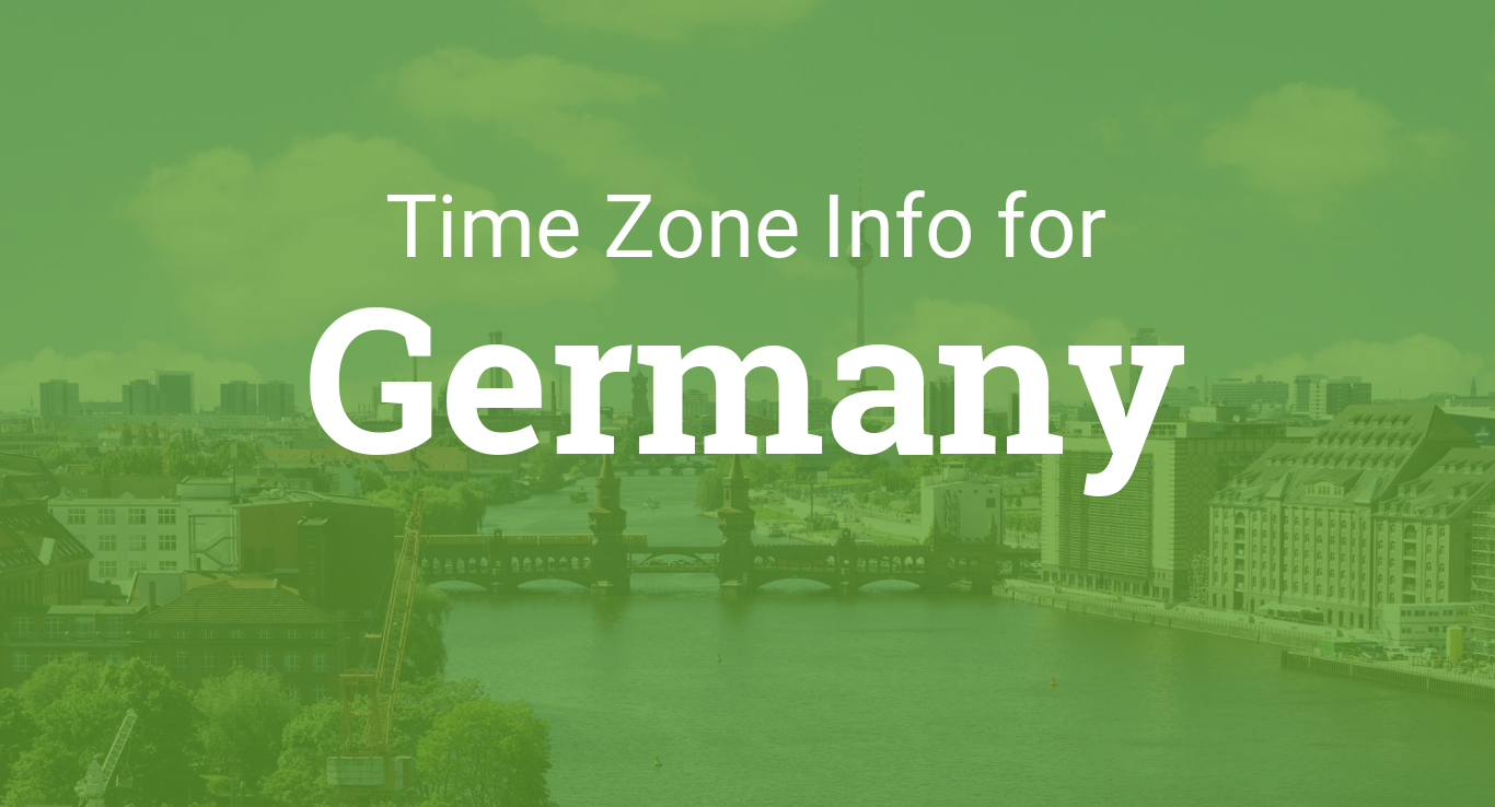Time zones in germany gumiabroncs Choice Image