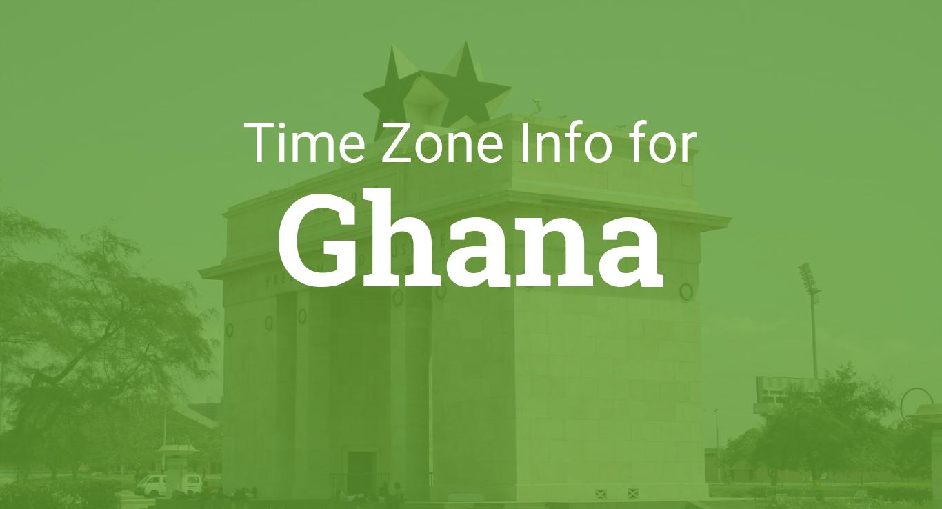 Time Zones In Ghana