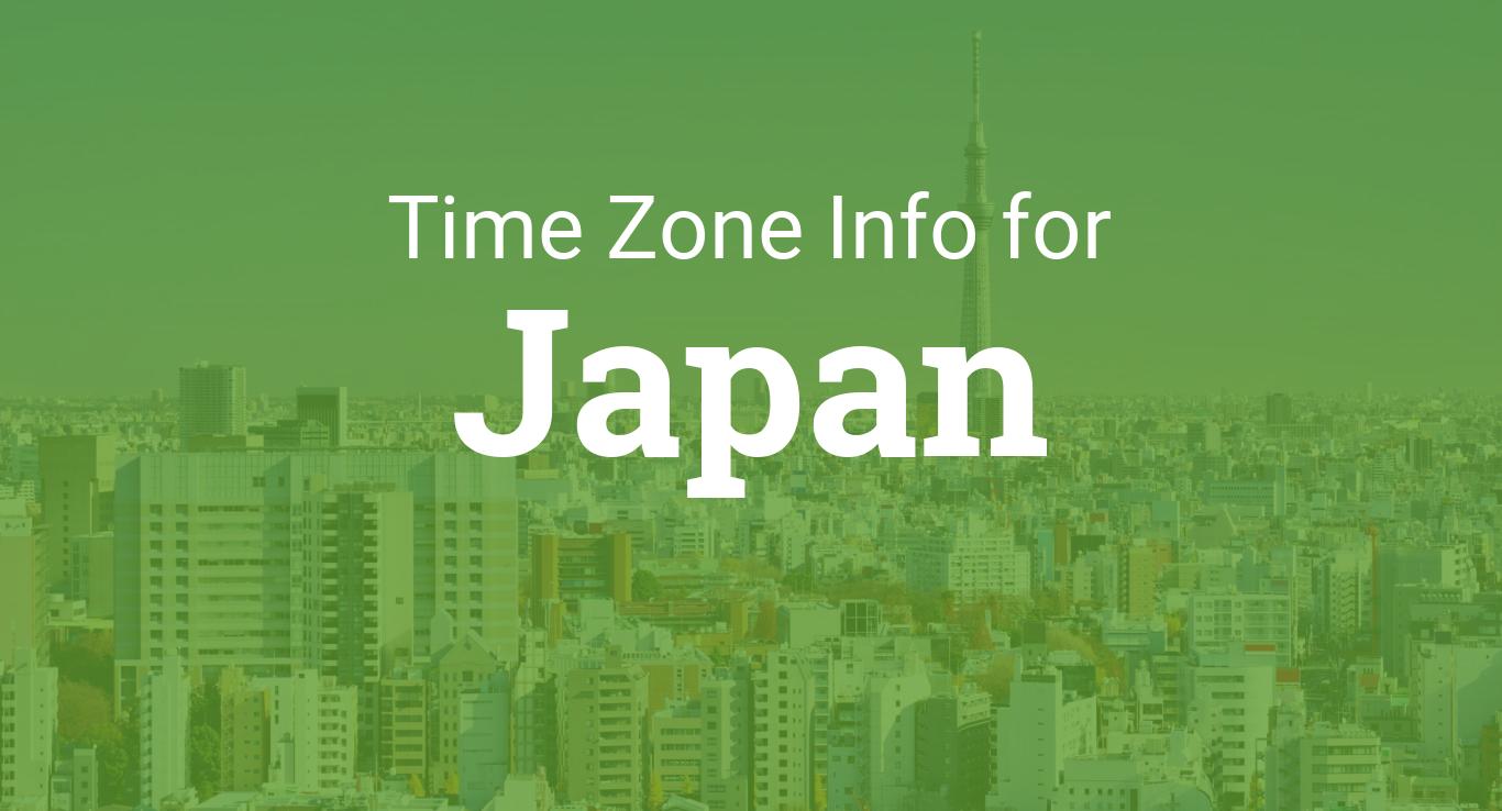 Time Zones in Japan
