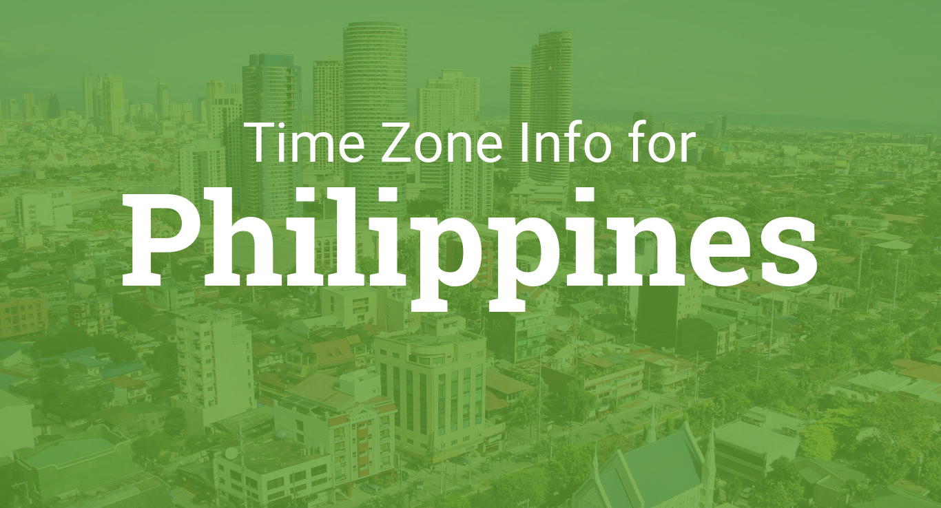 Time Zones In Philippines
