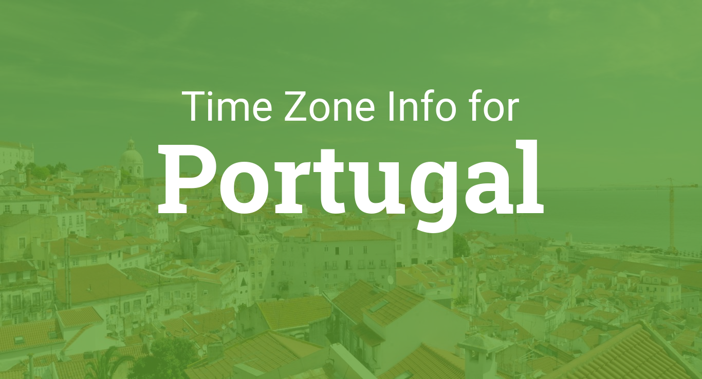 Time Zones in Portugal