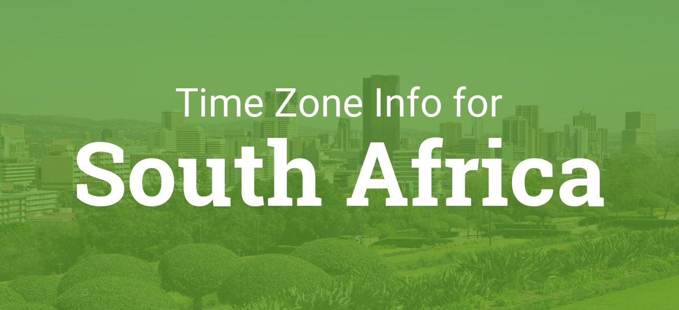 Time Zones in South Africa