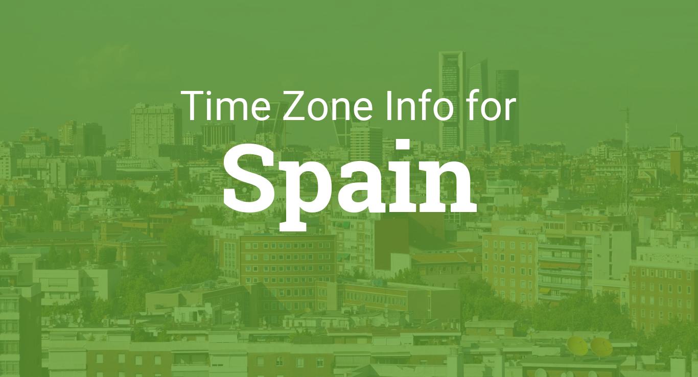 Time Zones in Spain