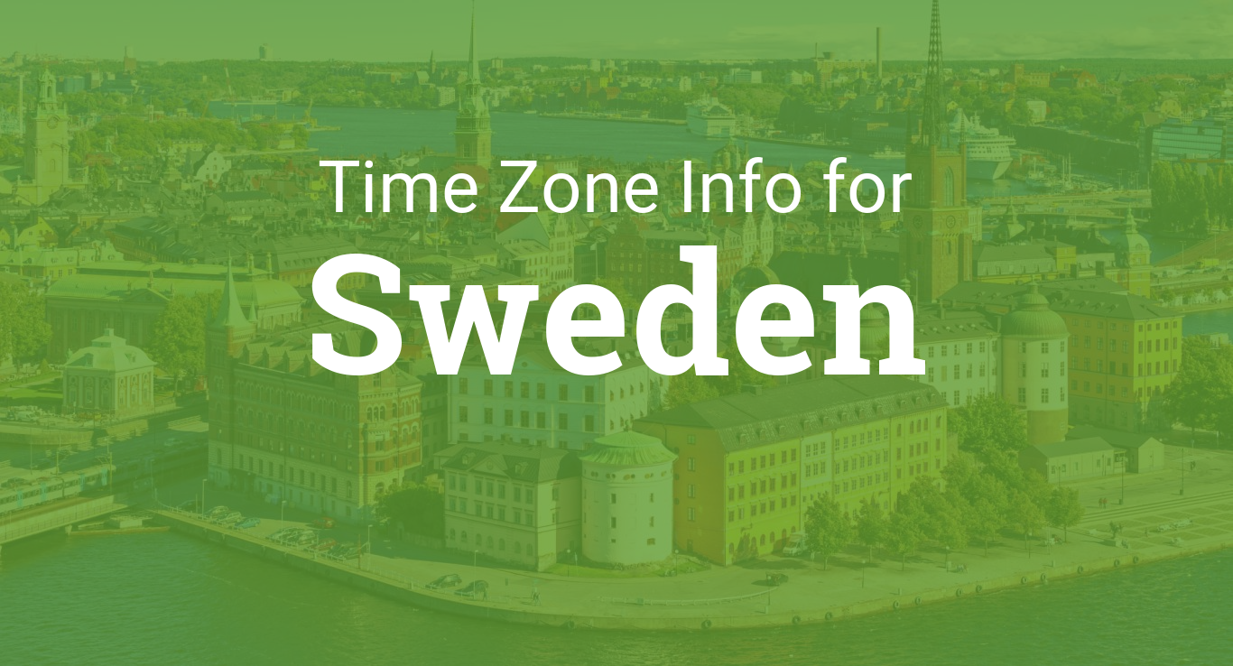 Time Zone Sweden