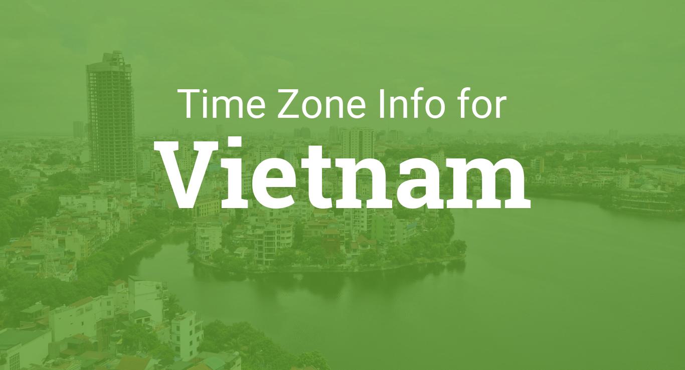 Time Zones In Vietnam