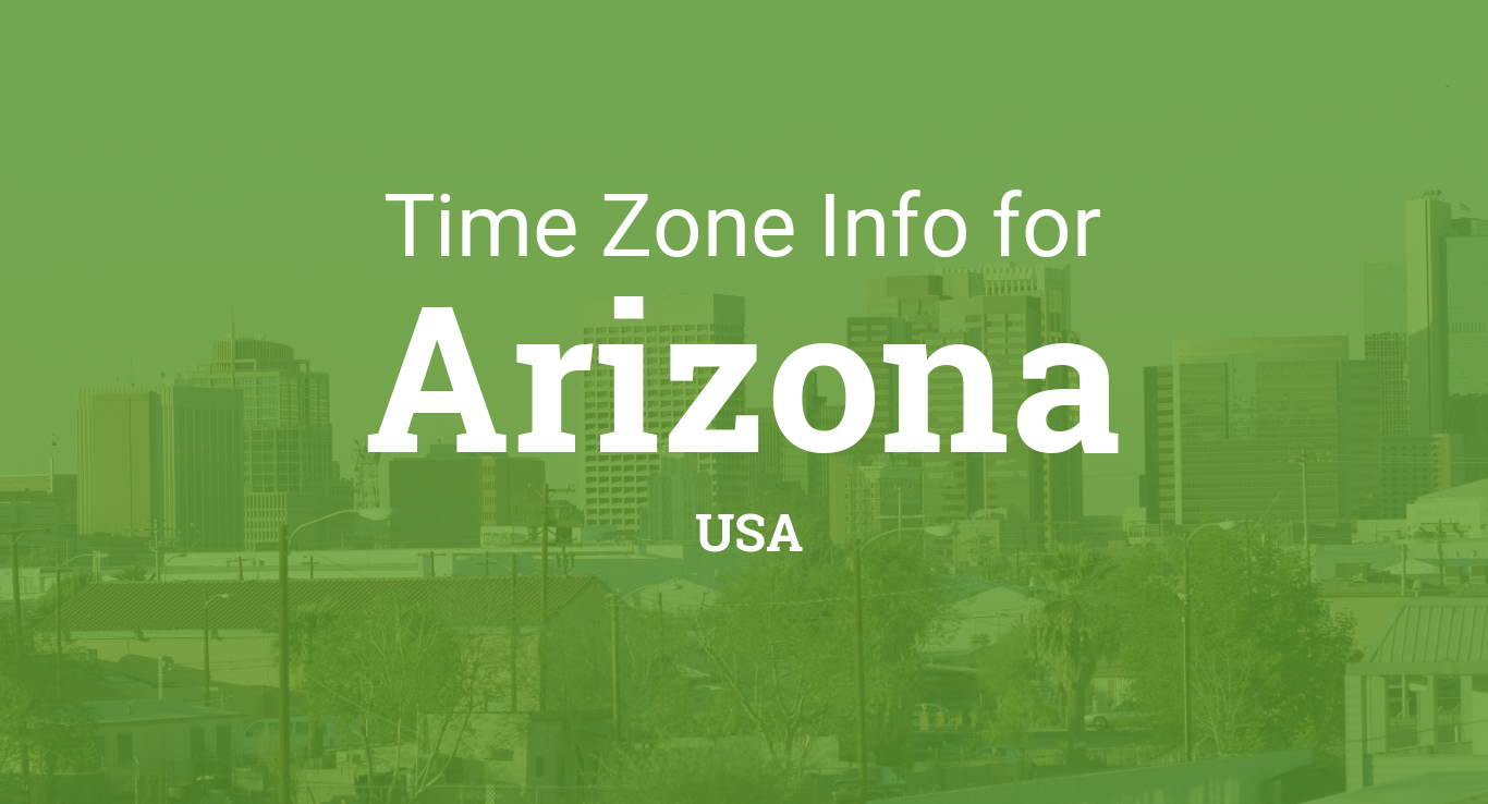 Fort Wayne Time Zone Map.Time Zones In Arizona United States