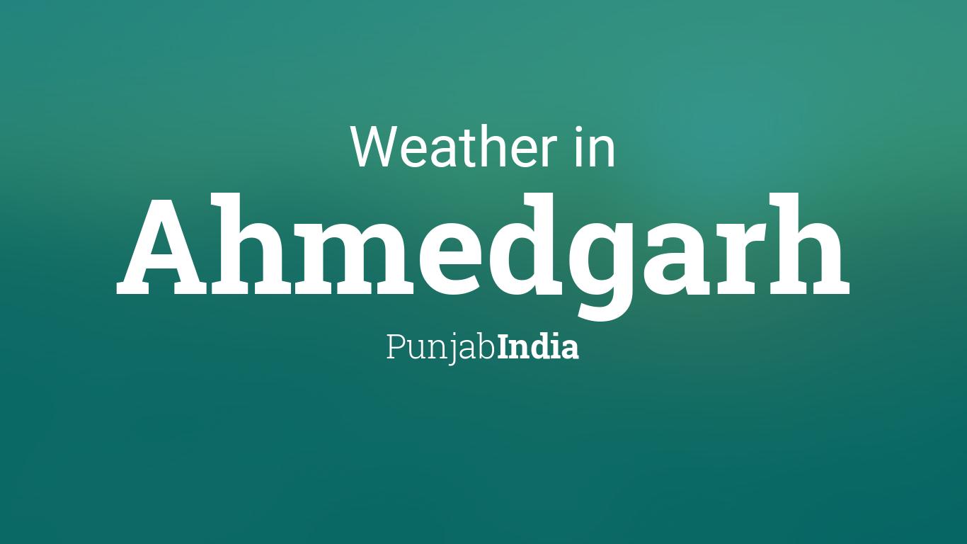 Ahmedgarh City