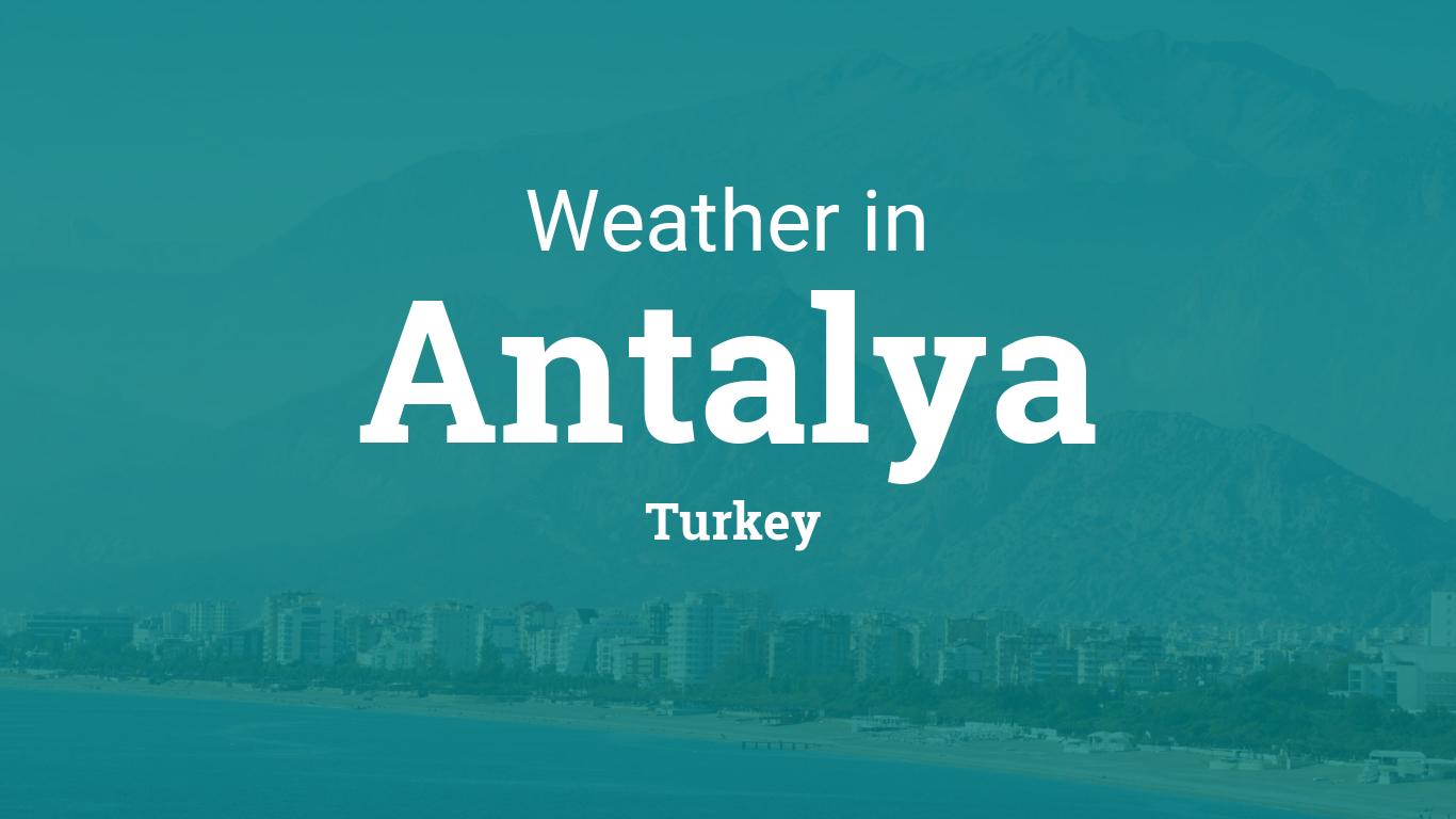 Www Wetter Antalya De
