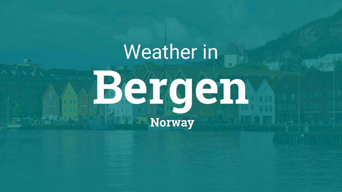 Printable Monthly Calendar With Holidays : Weather for bergen norway