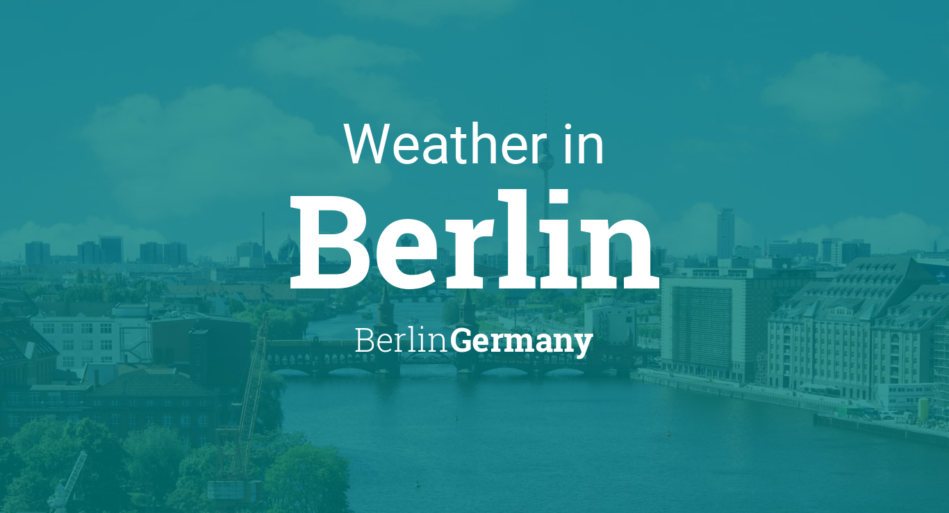 weather for berlin berlin germany. Black Bedroom Furniture Sets. Home Design Ideas