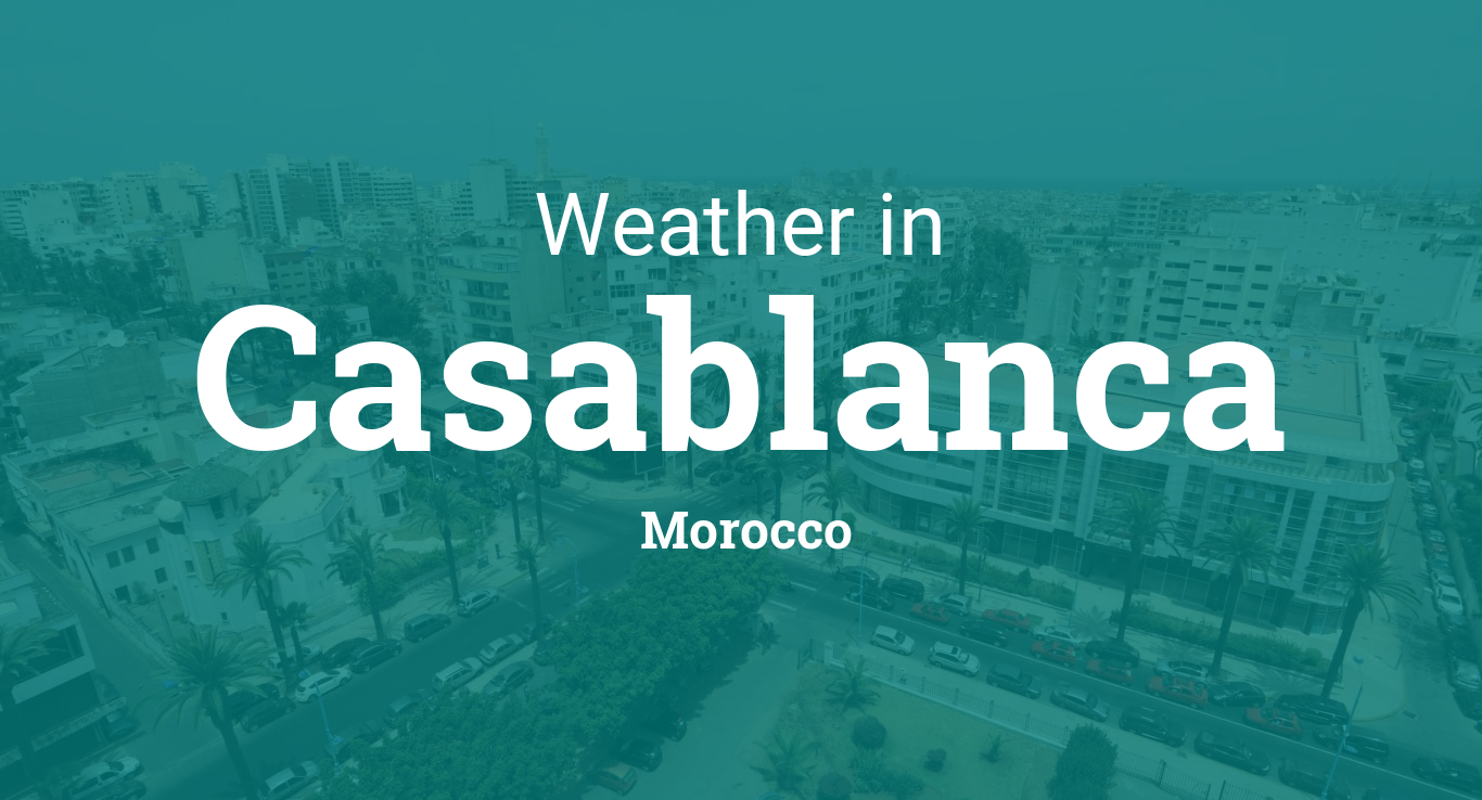 Event Calendar Php : Weather for casablanca morocco