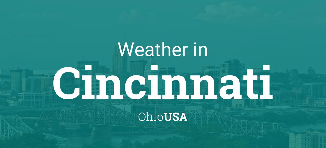 Weather For Cincinnati Ohio Usa