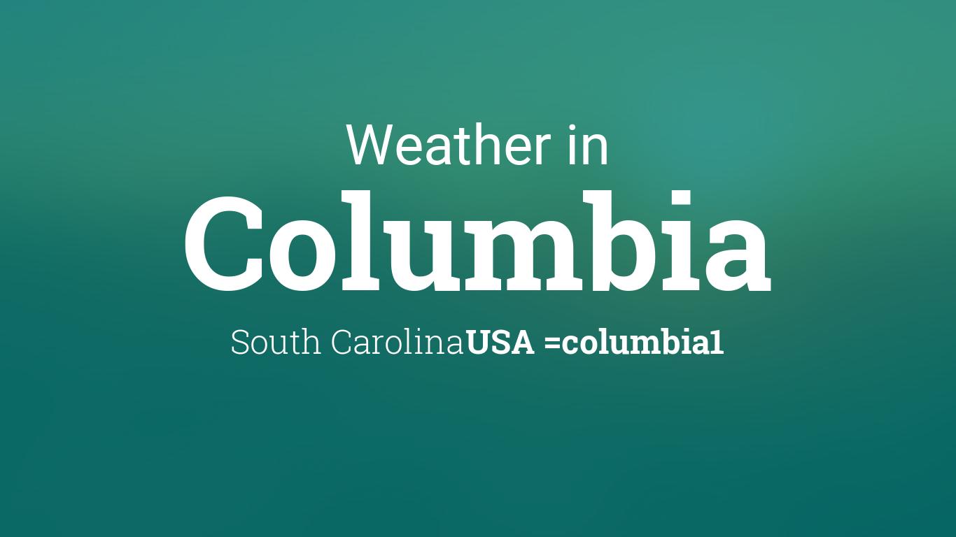 weather for columbia south carolina usa. Black Bedroom Furniture Sets. Home Design Ideas