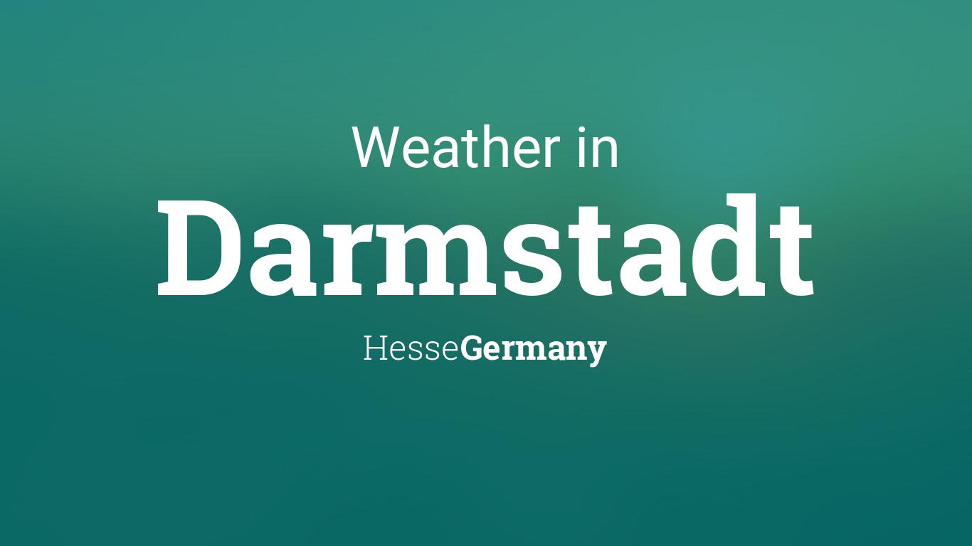Weather Darmstadt