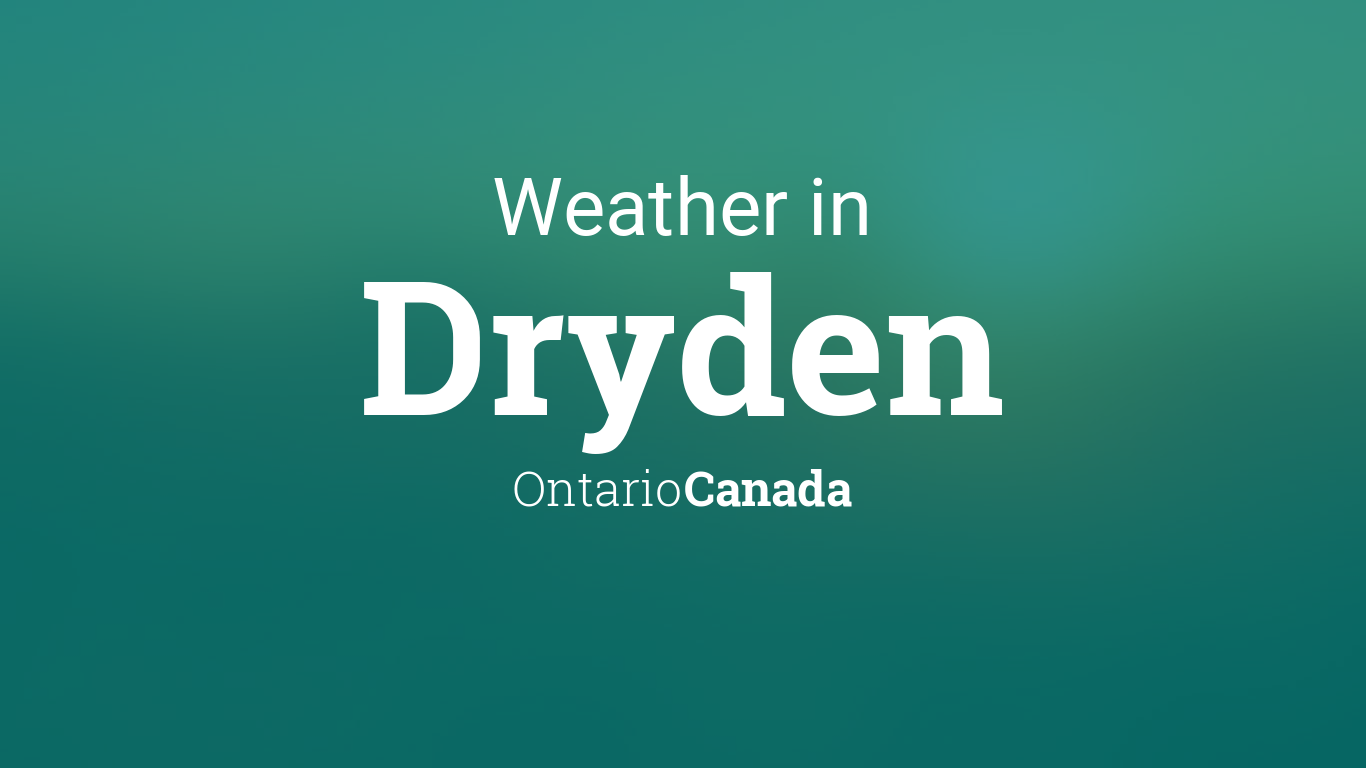 Generic Year Calendar : Weather for dryden ontario canada