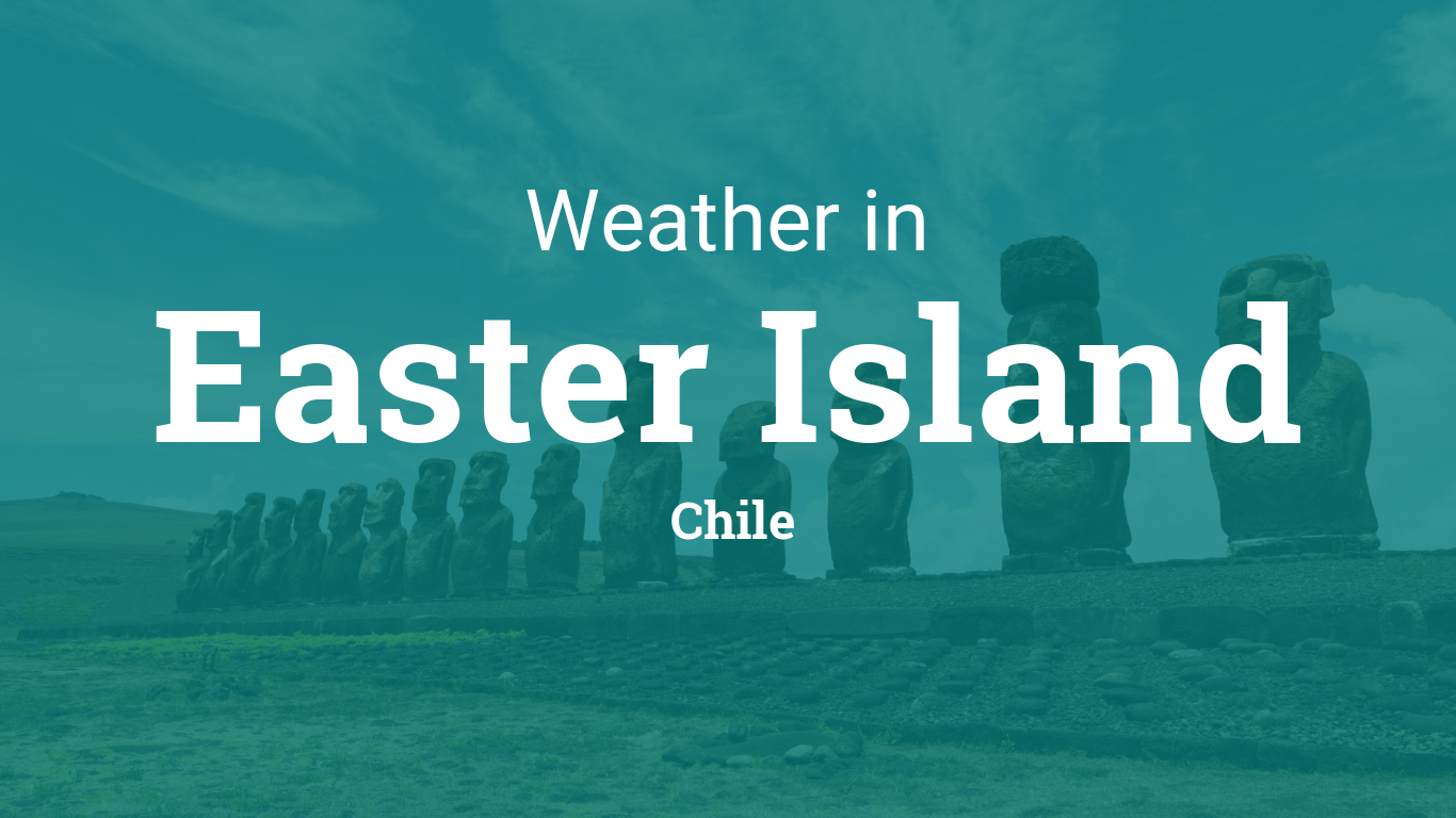 Weather Hanga Roa Easter Island