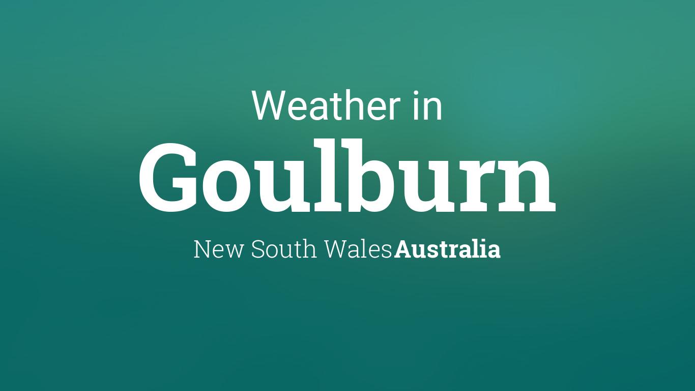 goulburn weather - photo #14
