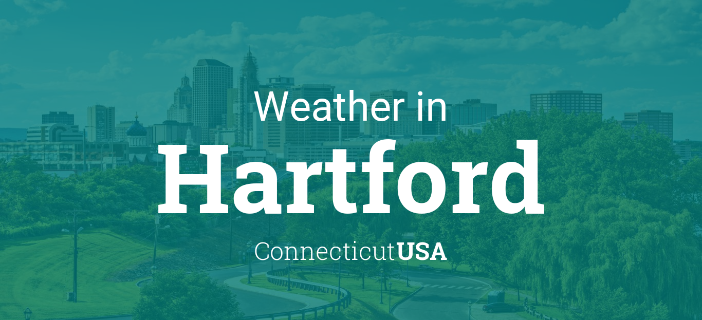 Weather For Hartford Connecticut USA - Us temperature map abbreviations locations