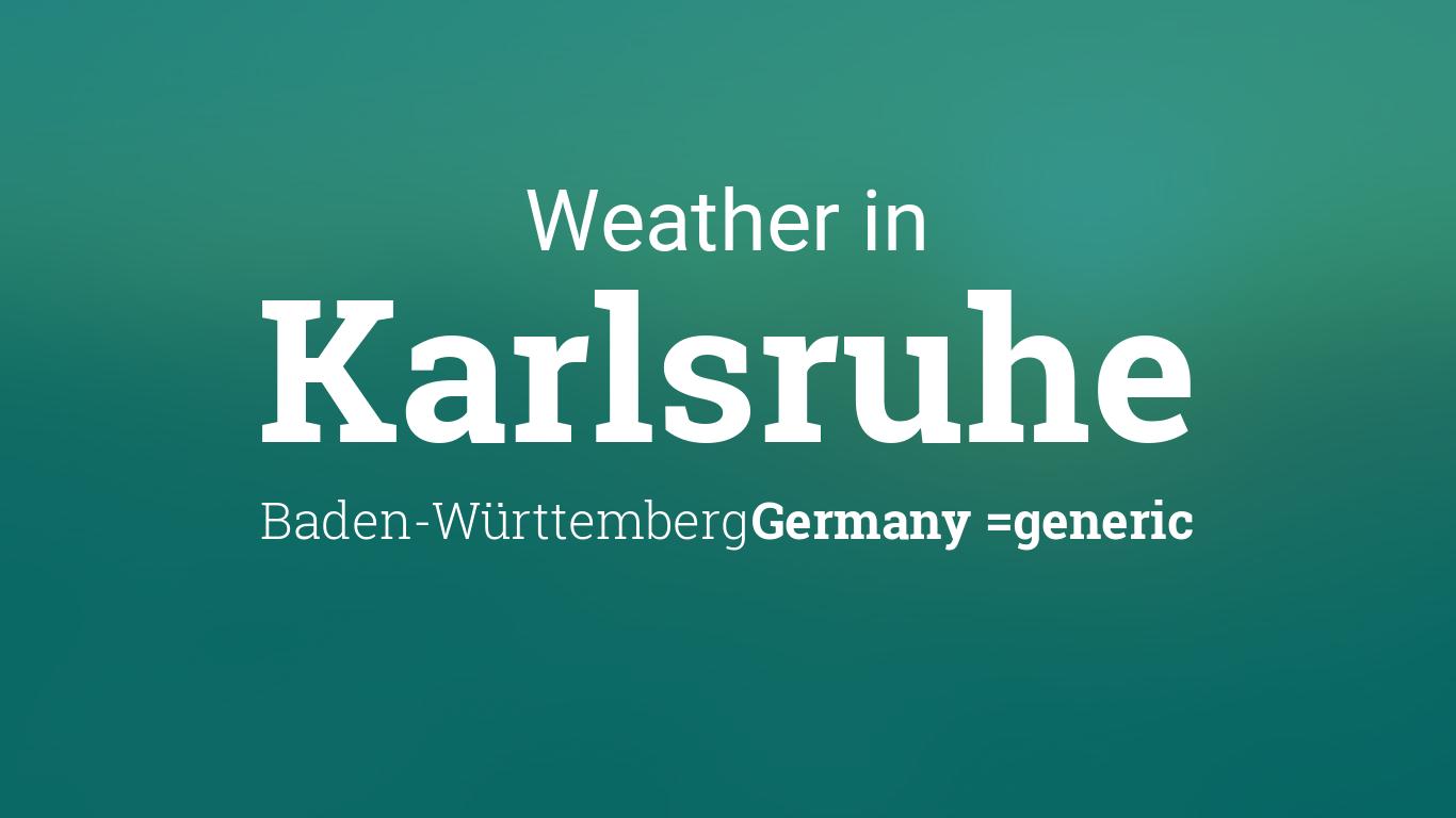 weather for karlsruhe baden w rttemberg germany. Black Bedroom Furniture Sets. Home Design Ideas