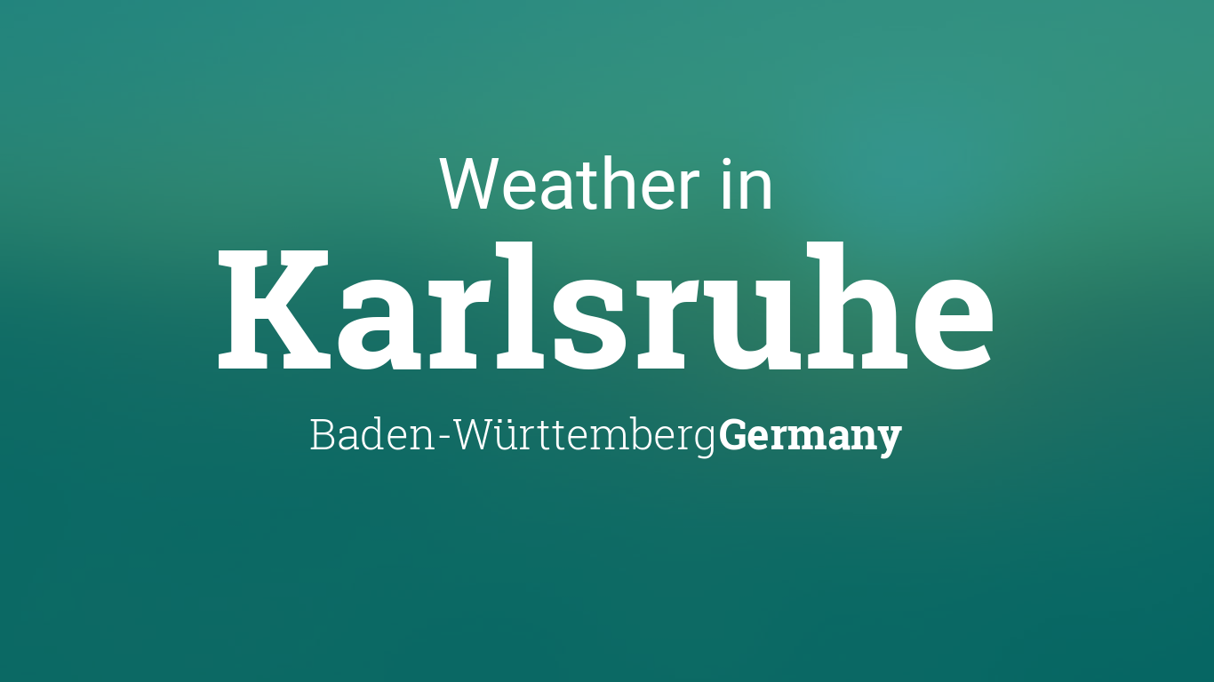weather for karlsruhe baden w rttemberg germany. Black Bedroom Furniture Sets. Home Design Ideas