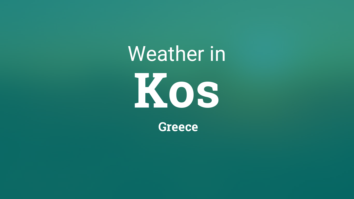 Calendar Planner Php : Weather for kos greece
