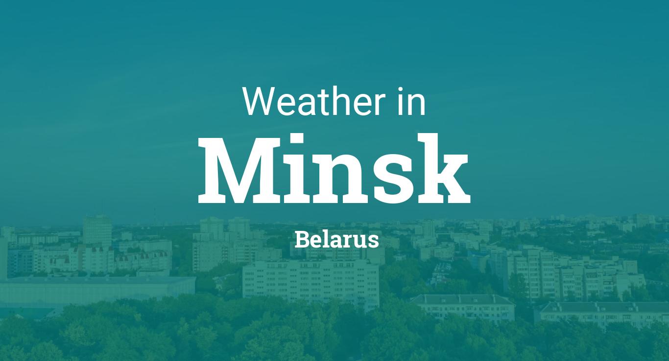 Weather for Minsk, Belarus