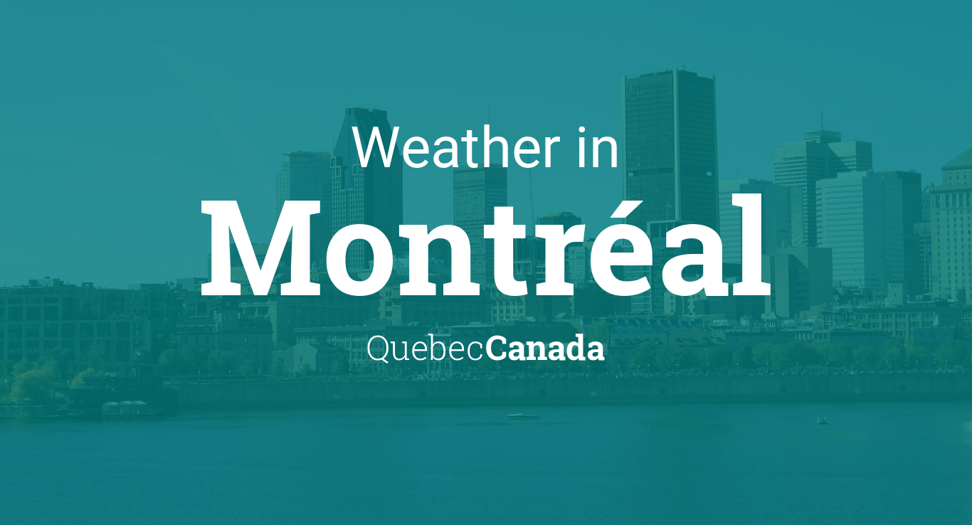 Weather For Montréal Quebec Canada - Us weather network map
